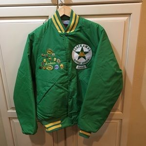 Vintage 90s satin jacket m
